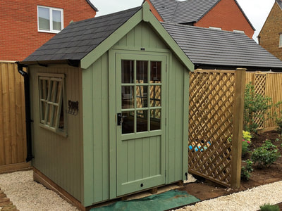 Luxury posh garden sheds the cosy shed co for Luxury garden sheds