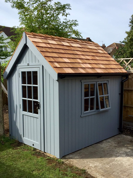 cosy shed posh shed luxury shed classic